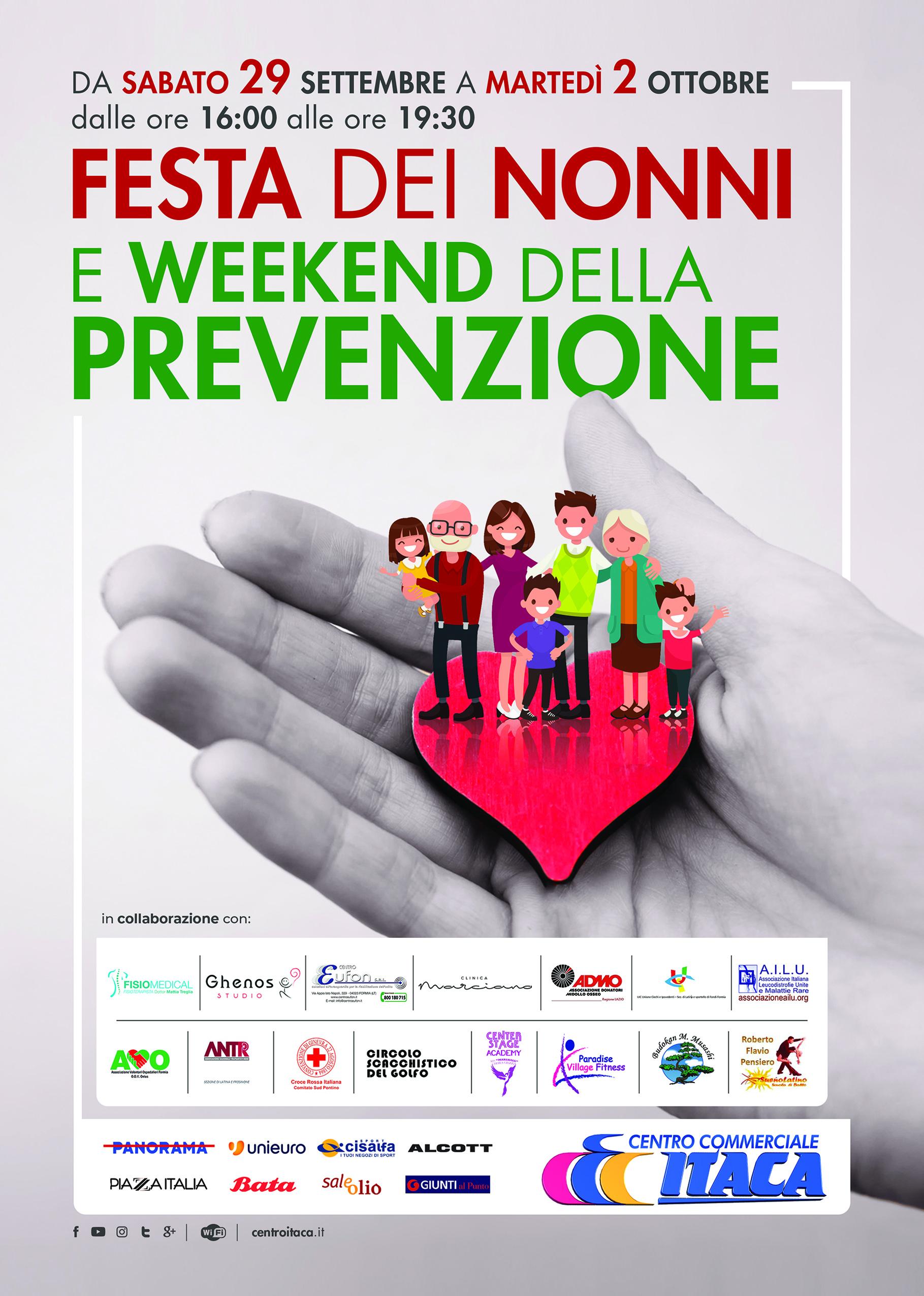 Weekend della Prevenzione al Centro Itaca di Formia