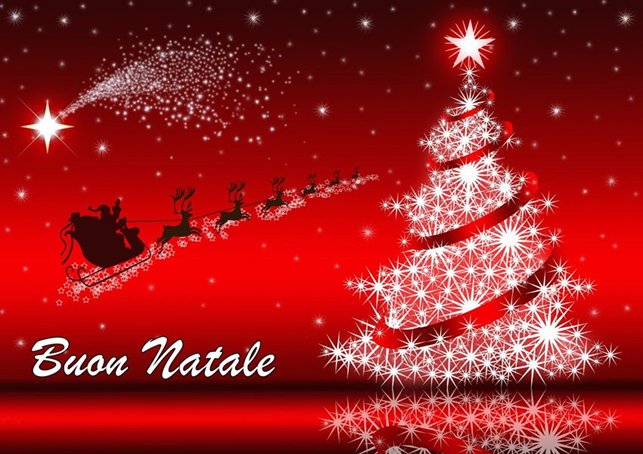 Auguri di Buon Natale e Felice Anno 2018