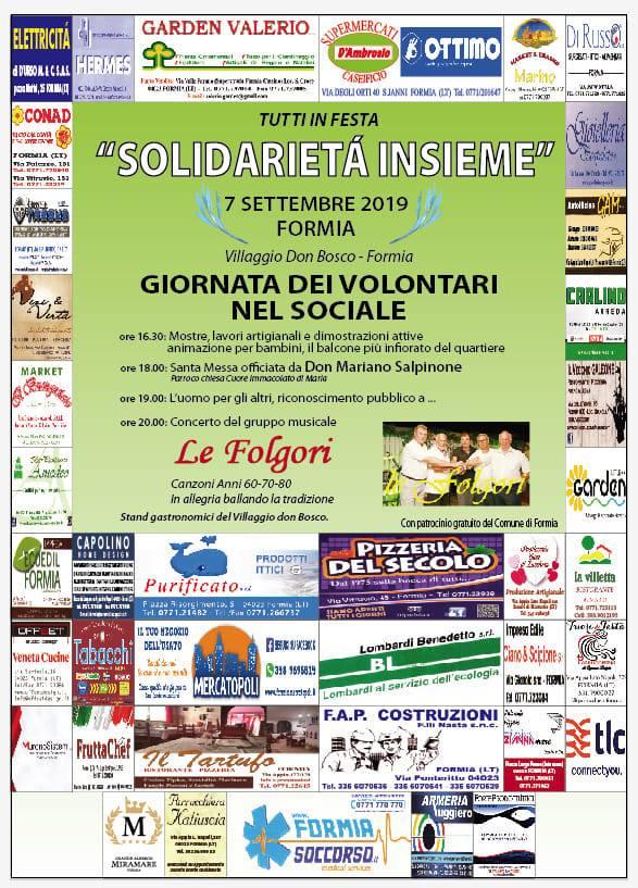Anche l'A.I.L.U. alla Giornata dei volontari nel sociale a Formia