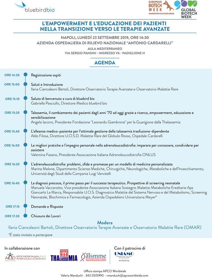 L'empowerment e l'educazione dei pazienti nella transizione verso le innovazioni biotecnologiche